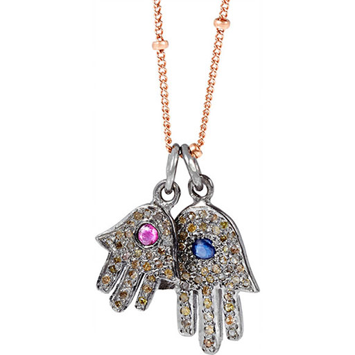 Fatima Hands Necklace